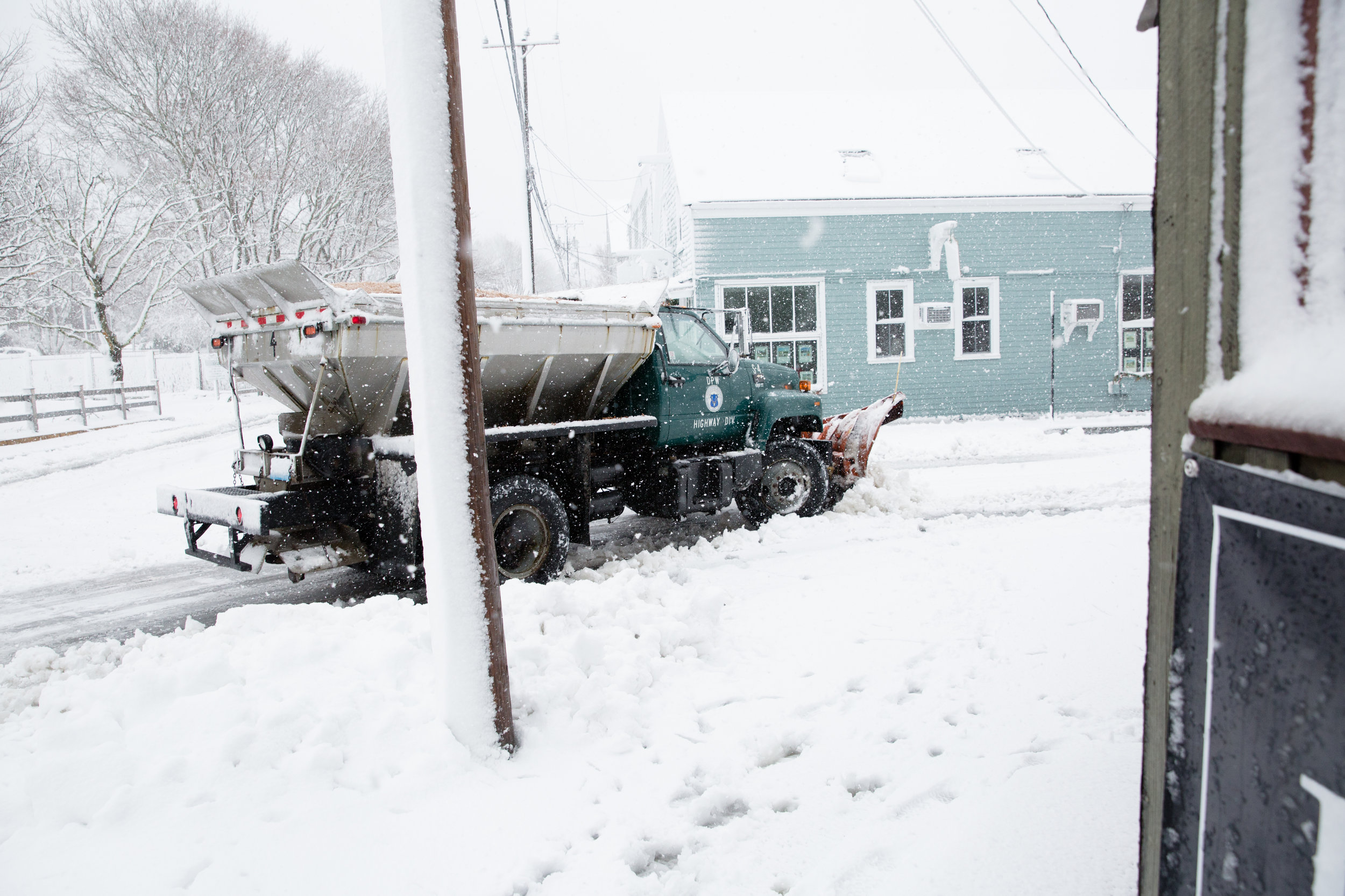 Plows were out day and night. - Padanaram Village