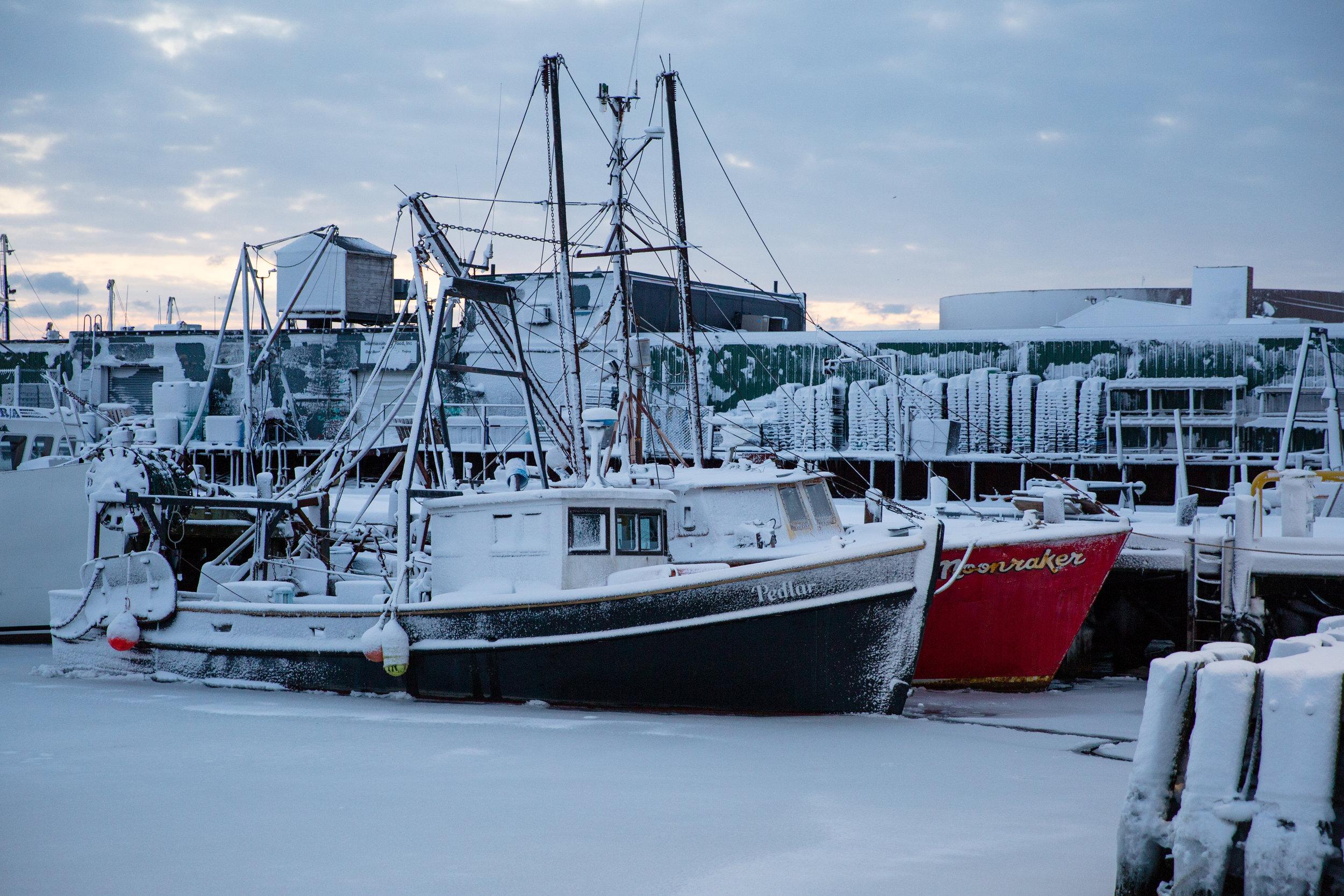 Fishing Boats - New Bedford, MA