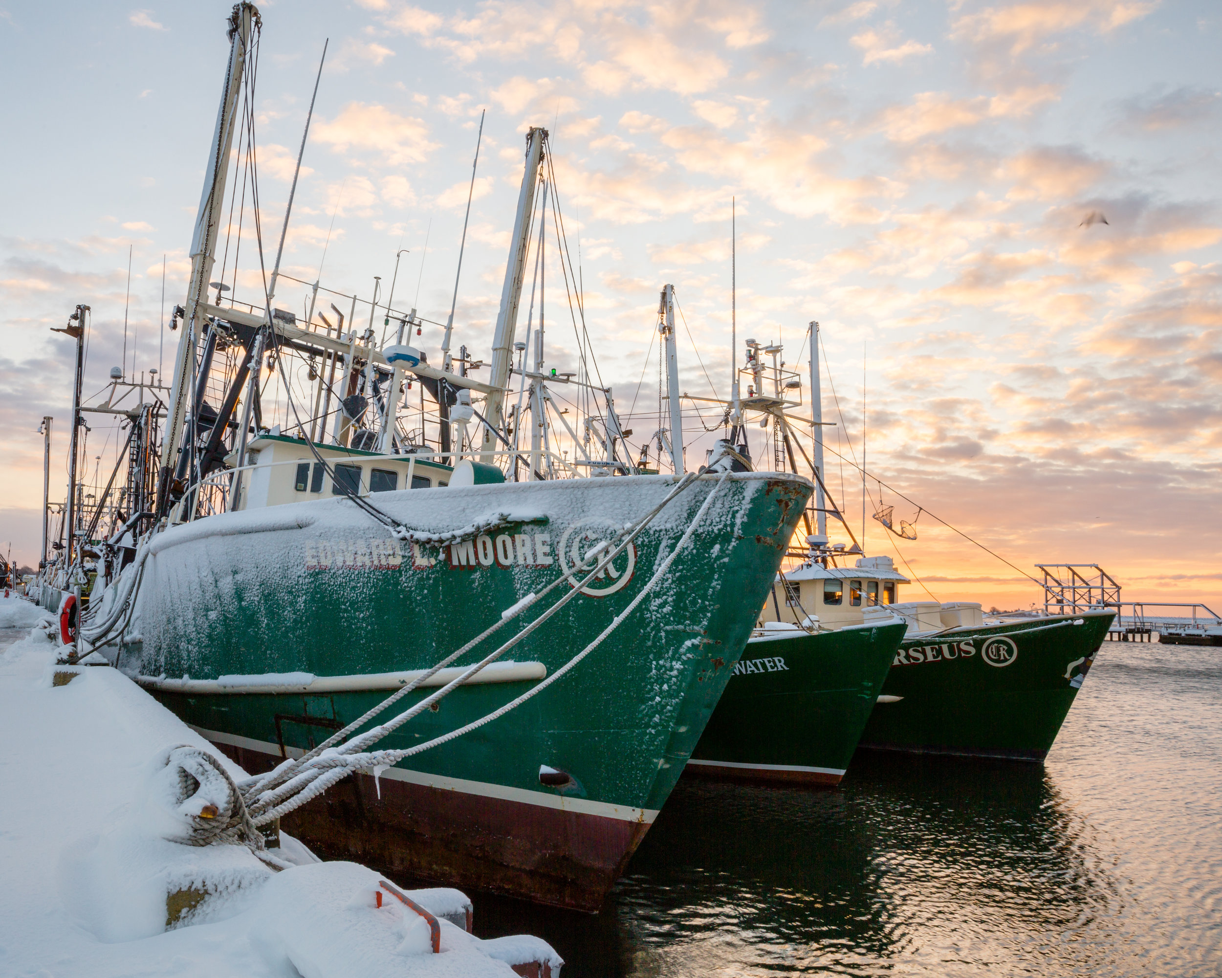 More fishing boats. - New Bedford, MA