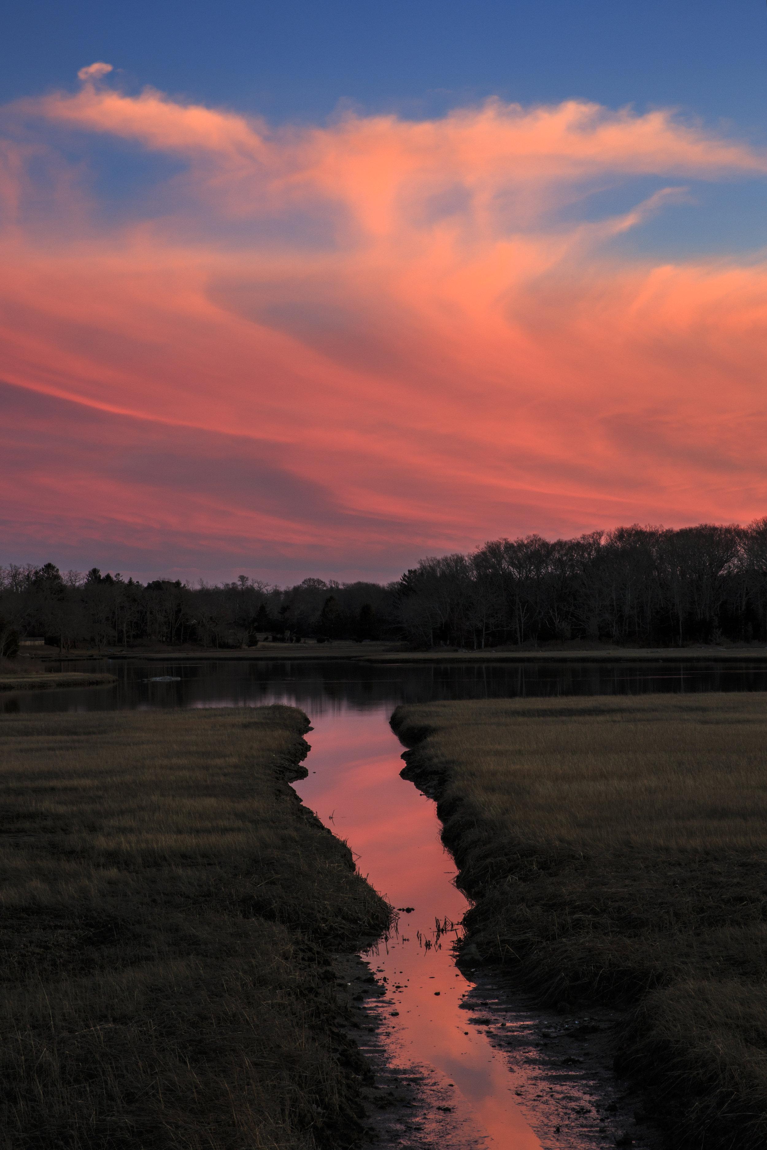 Salt Marsh Sunset - South Dartmouth, MA