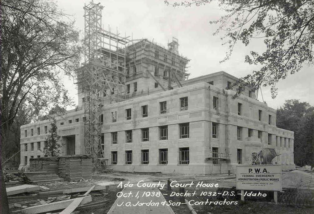 ada county court house : 1939 -