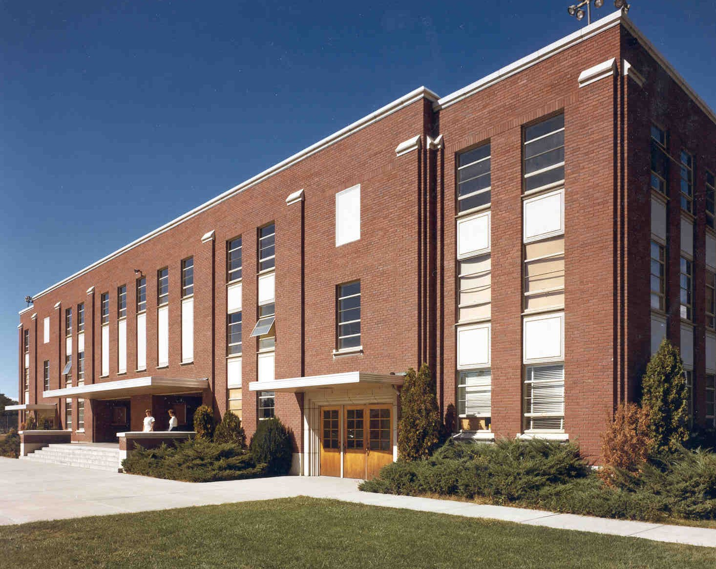 BSU Campus PE Building : 1955 -