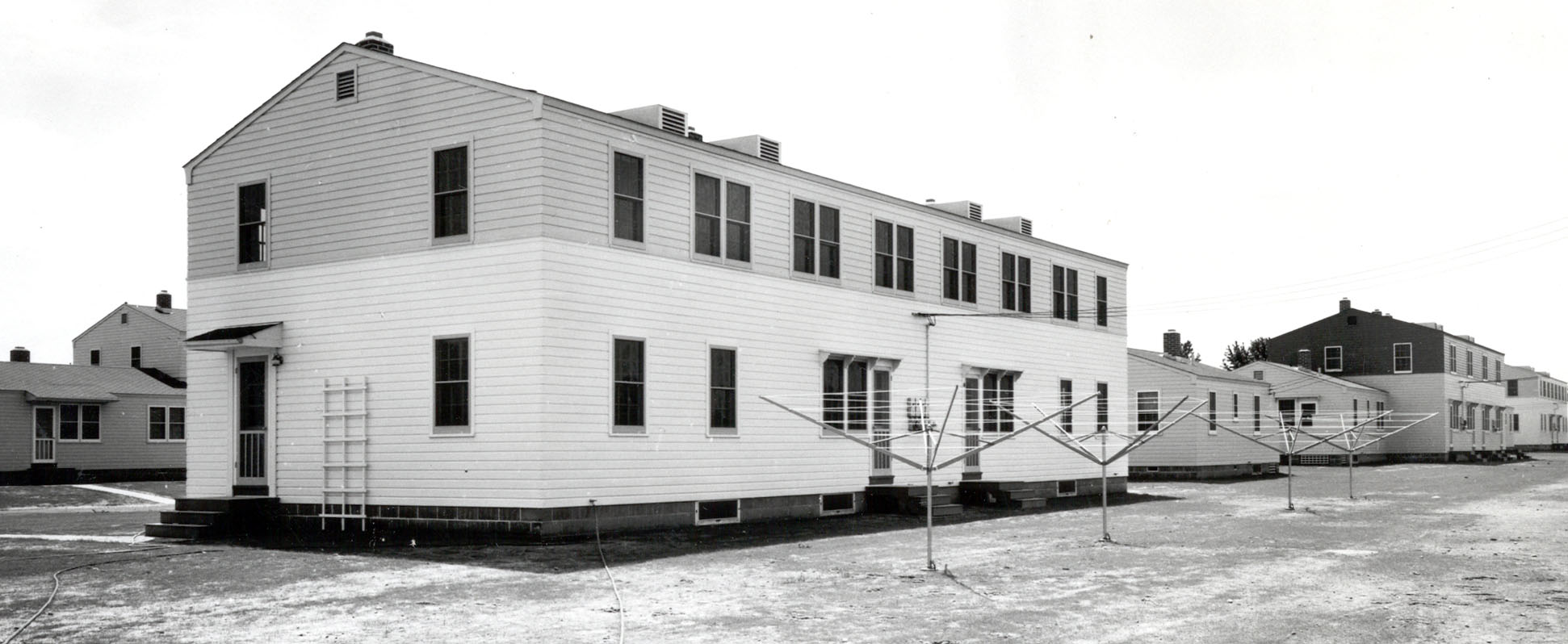 "NCO Housing Quarters : 1941 - ""Sargent City"" - Overland & Latah"