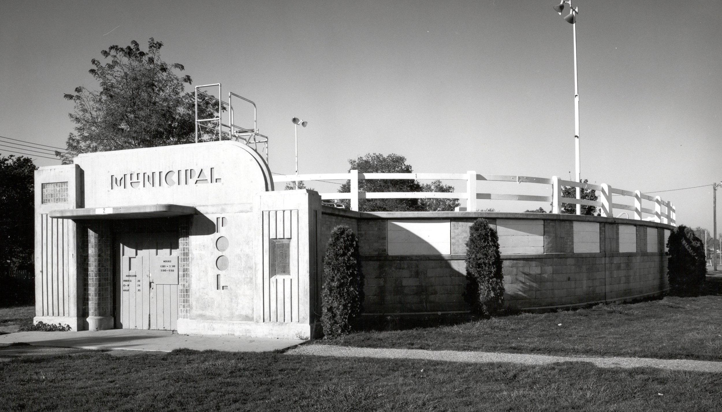 Municipal Pool : 1953 -