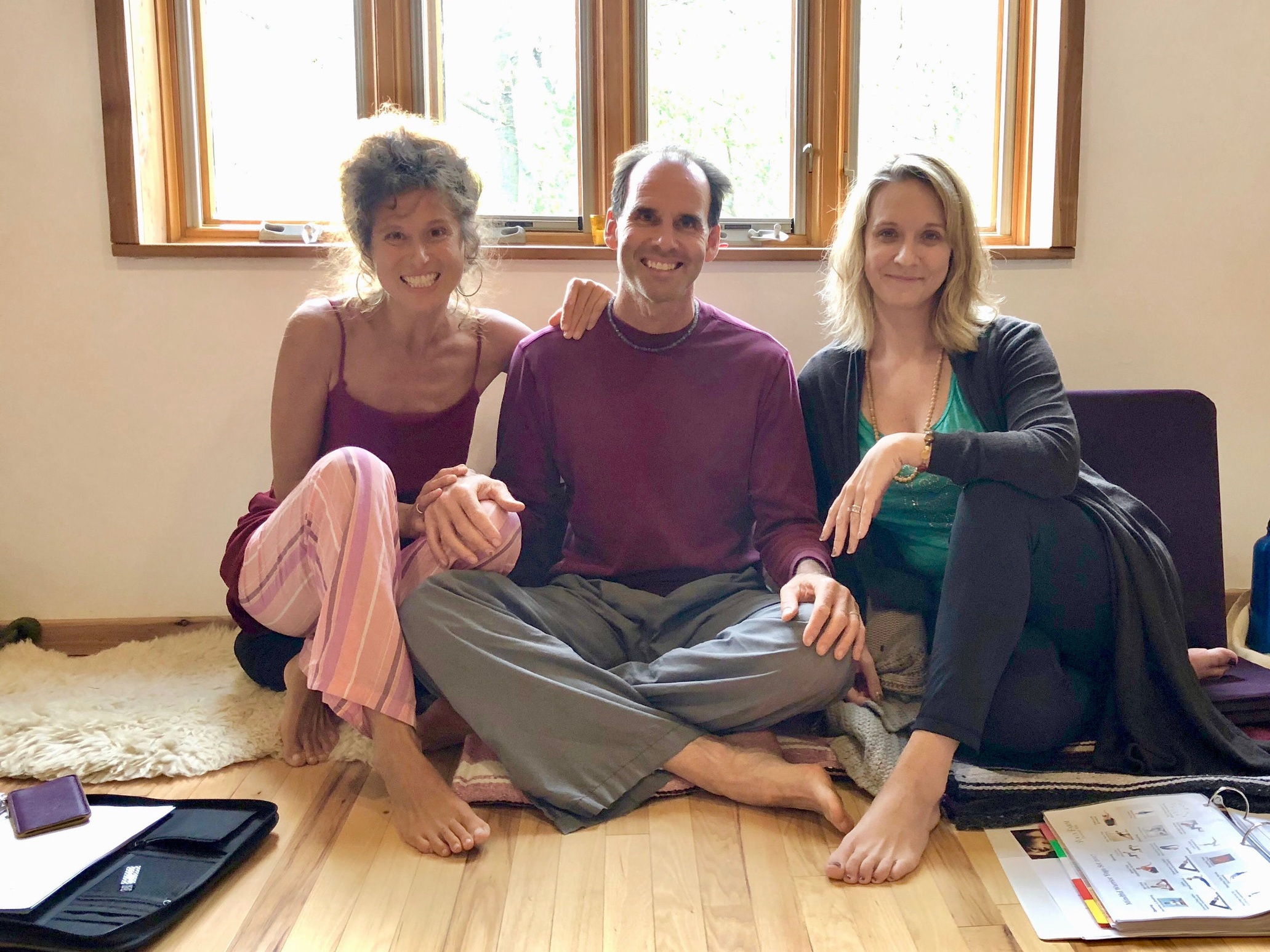 With love and respect,  Daniela, Christopher and Jeannie, Directors and Educators    With special thanks to our yoga teachers (Pennee, Melani, Lynn, Lazarra, Hannah, Alyssa) and volunteers at your community nonprofit,  The Radiant Living School at Yoga Farm