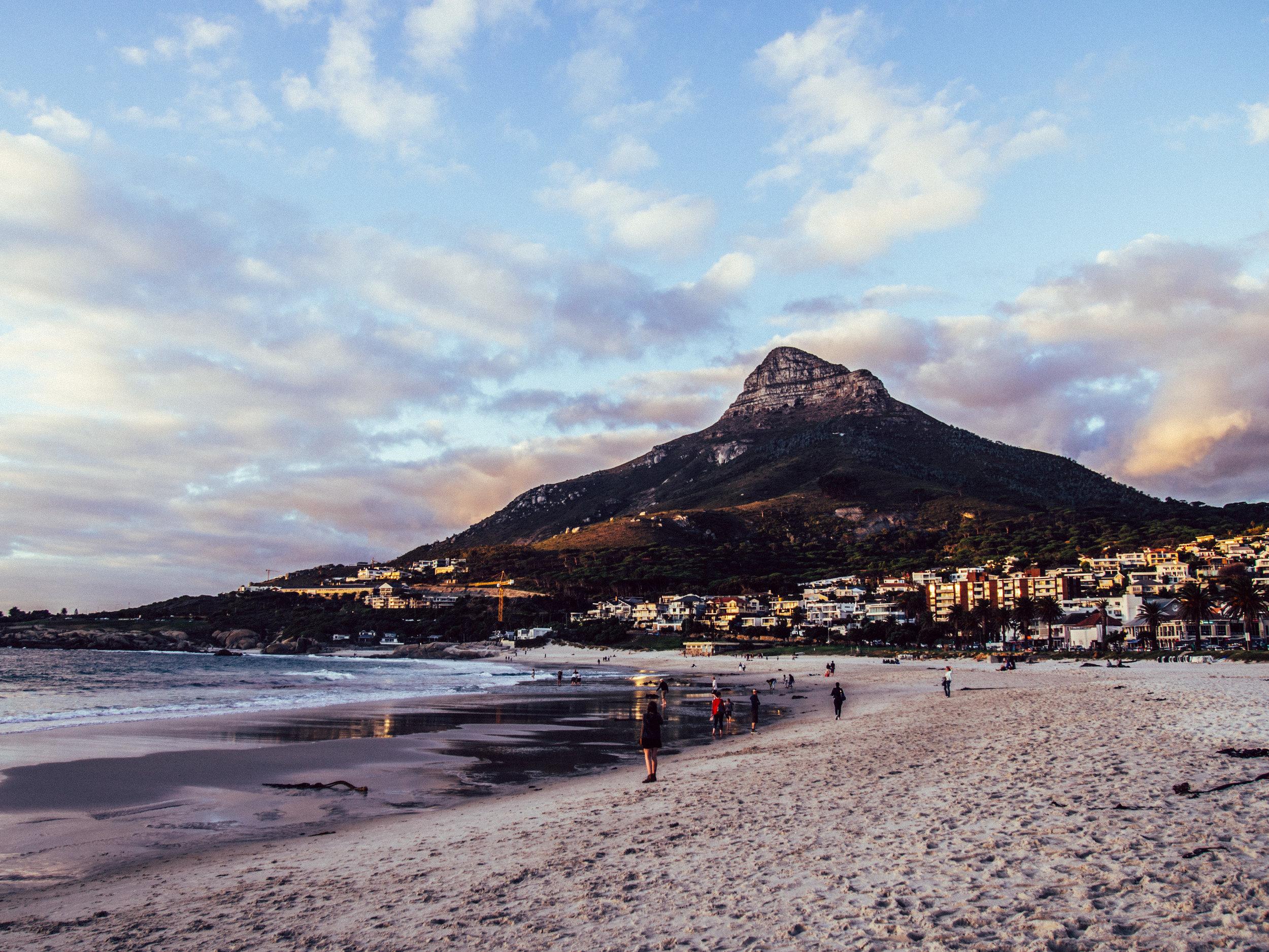 Camps Bay Beach, Cape Town 2015