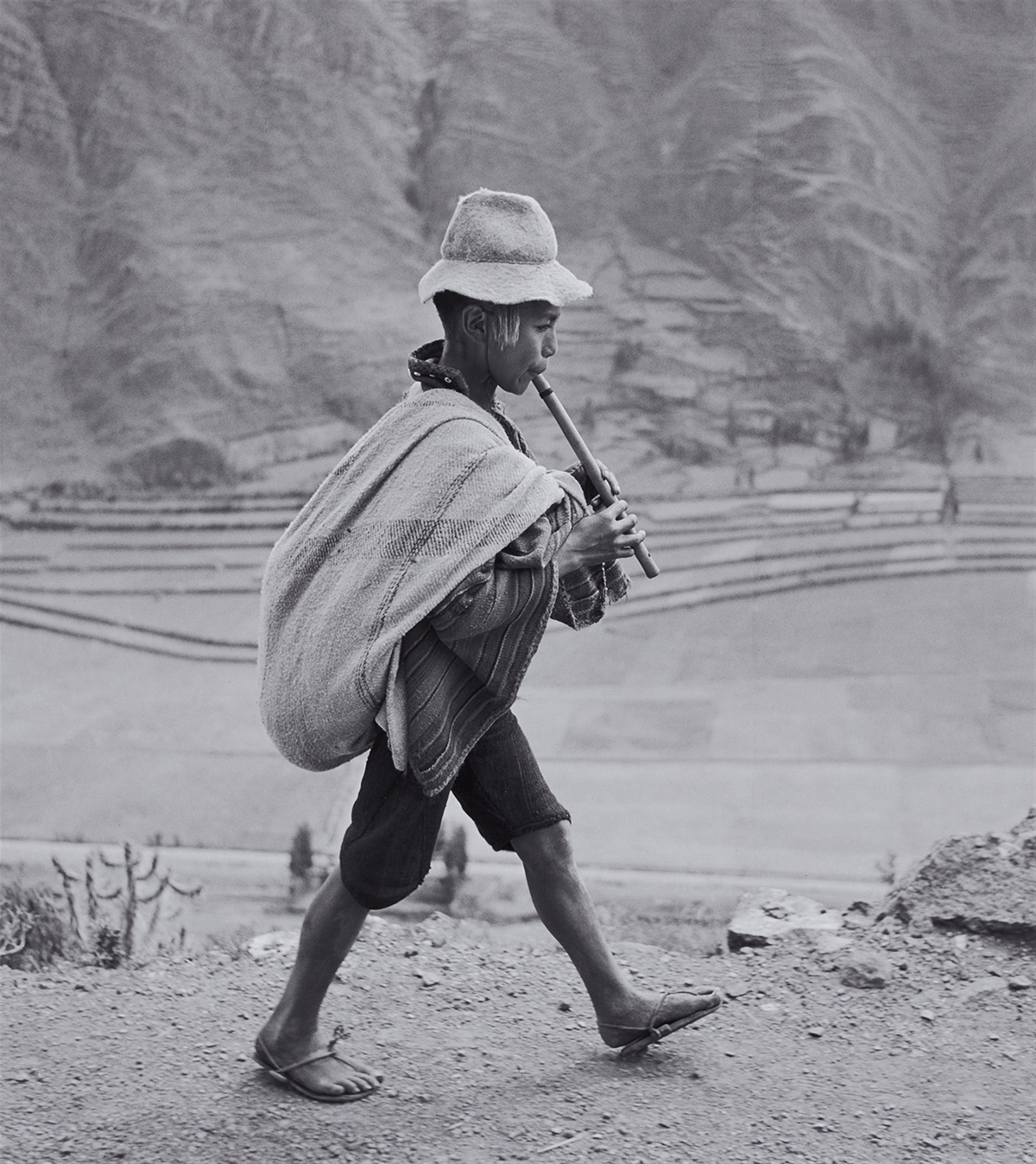 «On the road to Cusco, Peru» av Werner Bischof