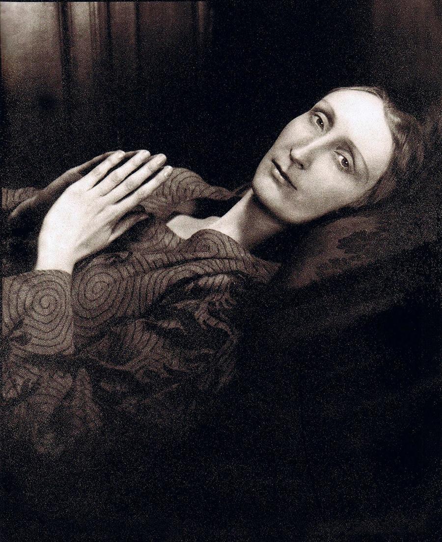 Edith Sitwell  av Cecil Beaton, 1930