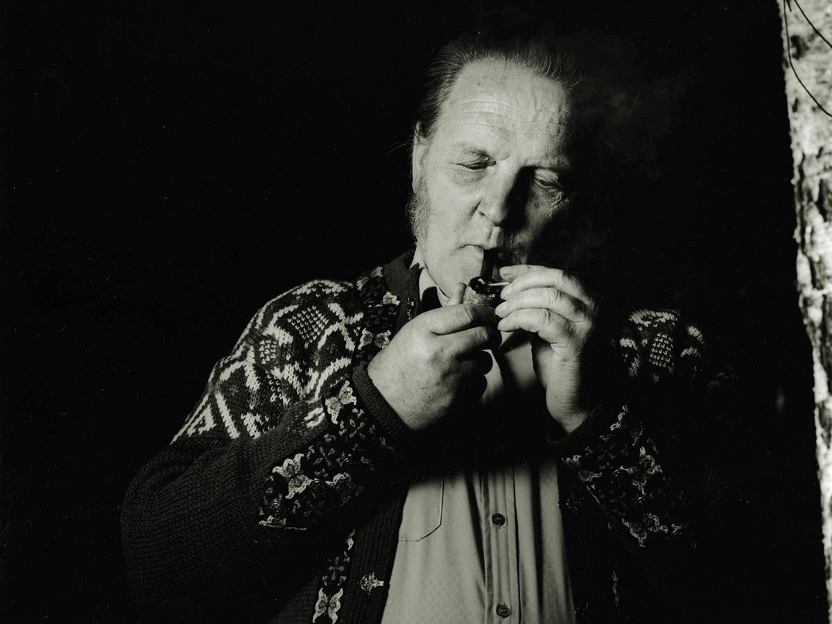Hans Børli, forfatter  av Morten Krogvold