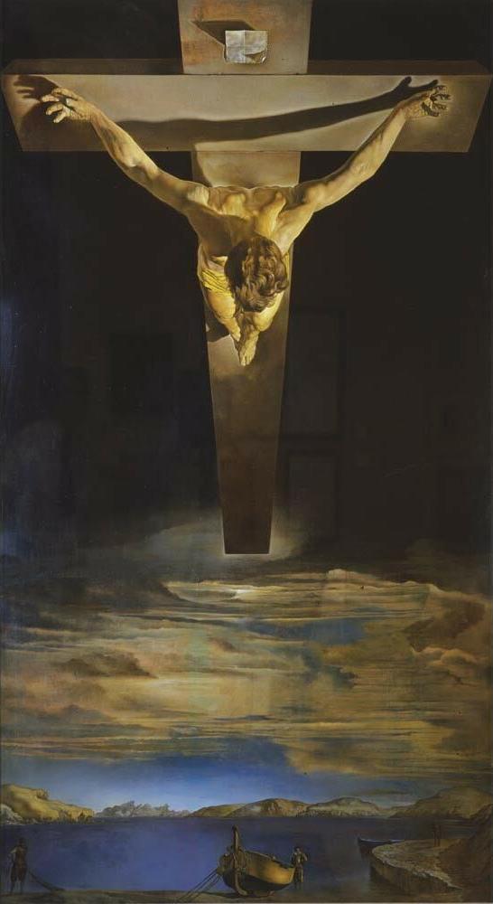 Christ of Saint John of the Cross  av Salvador Dalí