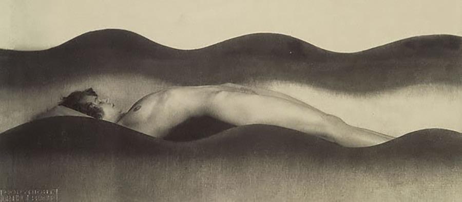 Vlna  – Bølgen. Foto: František Drtikol, 1925