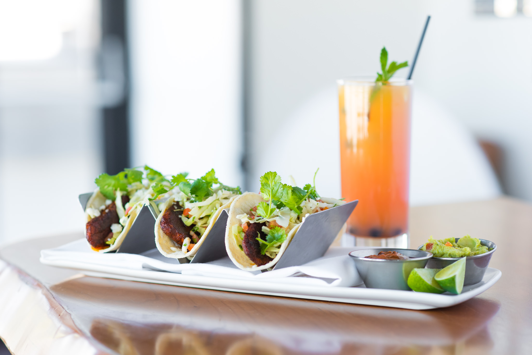 Restaurant - New menus, drinks, and interiors.