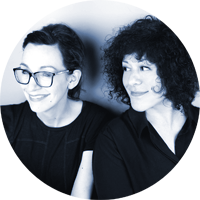 Nic Graham & Roz Nazerian Co-Founders &  Creative Directors Minx Creative London, UK   Read bio
