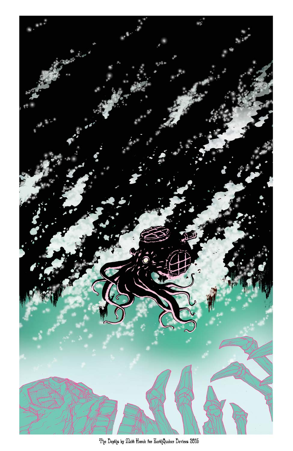 EarthQuaker Devices The Depths Poster