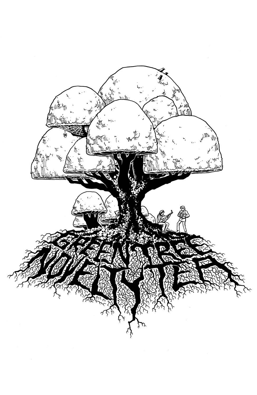Green Tree Novelty Tea Logo