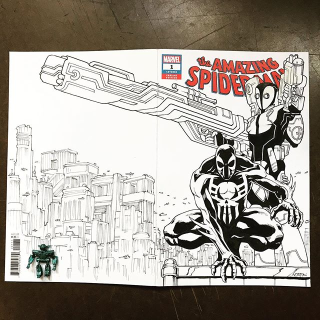 SMDP 2099 sketch cover