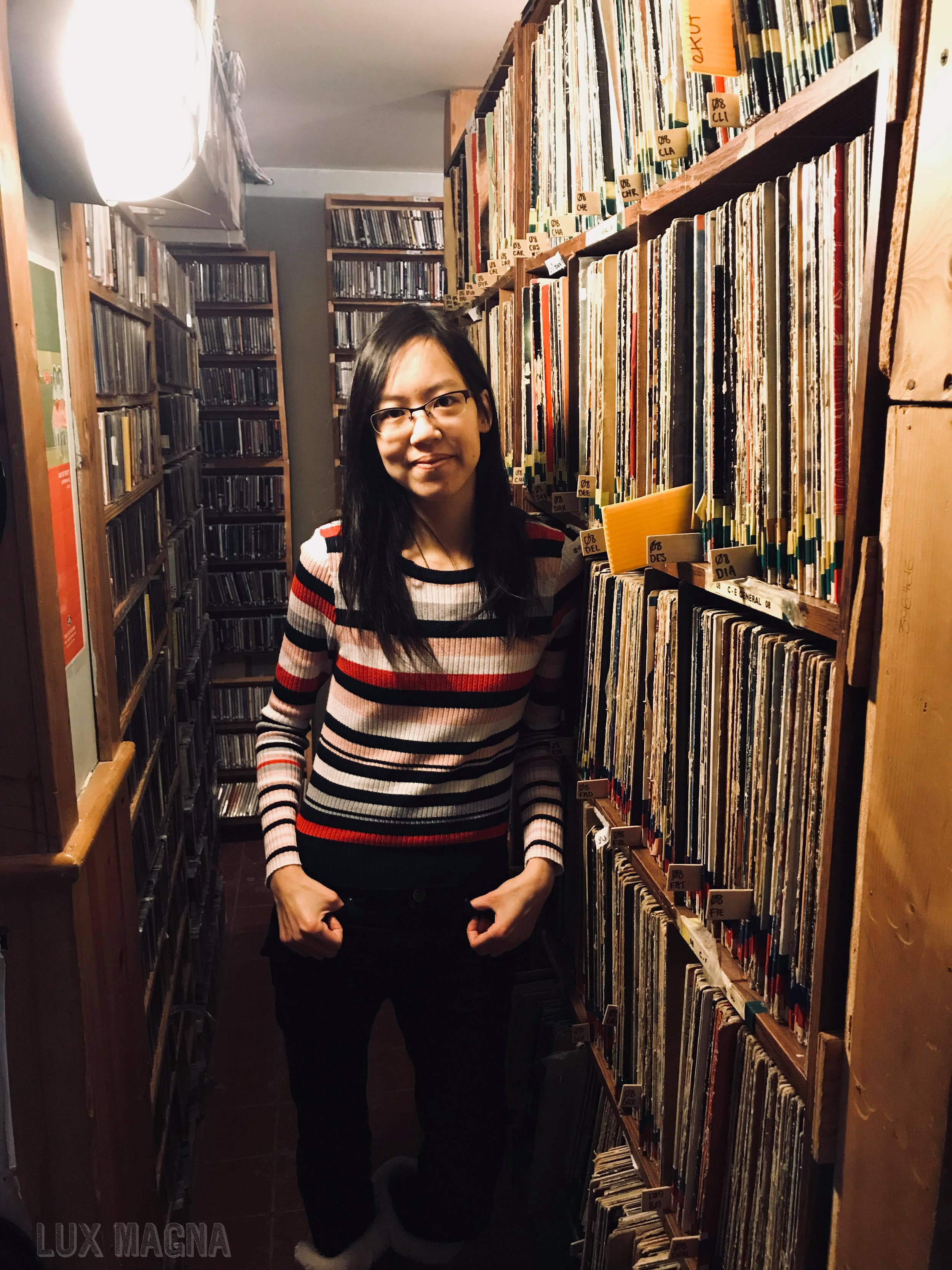 This was     Karen Chung    's 1st Canadian radio interview!