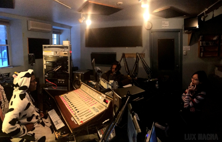 Mags    hosting the Montreal Sessions at CKUT 90.3FM