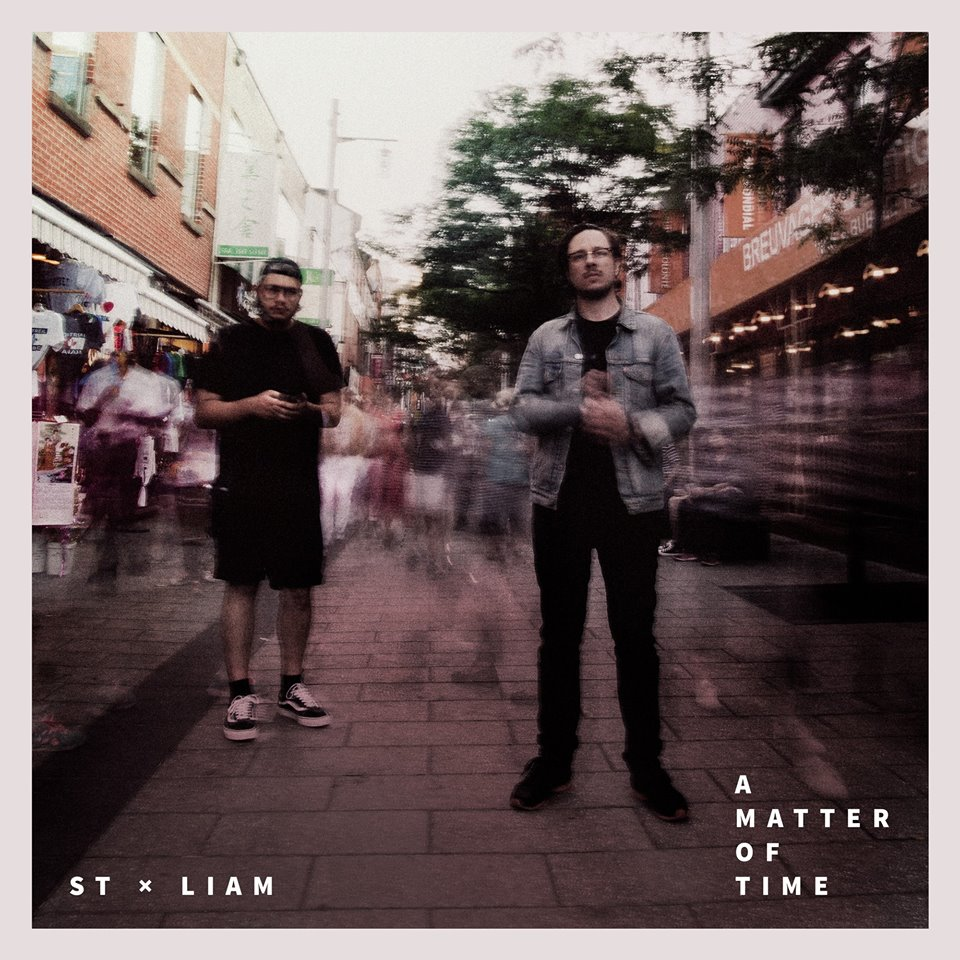 """A Matter of Time"", album by     ST x LIAM"