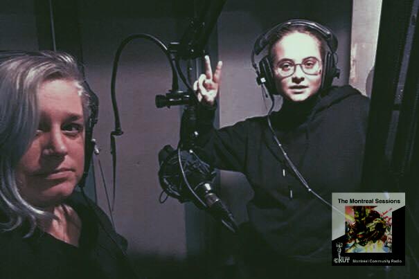 Kiva and Mars at CKUT 90.3FM