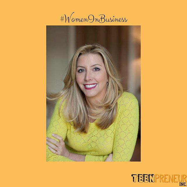 """In honor of women's history month, we will be highlighting some revolutionary women in the fields of entrepreneurship & business! • Sara Blakely is the founder of @spanx . Spanx is an intimate apparel company that sells pants, leggings, activewear, swimwear, hosiery, etc. Her company sells in 65 different countries around the world.  While working a job in sales, Blakely developed a new business idea. She cut the feet off a pair of panty hose. This trendy innovation allowed her to confidently wear trousers with a pair of strappy sandals. At only 27 years old, and while still working a job in sales, Blakely decided she wanted to help women all over the world feel more confident in their attire!  In 2000, after 2 years of hard work, she finally released her shapewear to the world. In November of 2000, Oprah Winfrey recognized @spanx as one of her """"favorite things"""". Following this publicity, she soon signed a contract with @qvc , and sold 8,000 pairs in the first six minutes of Spanx's first feature. Within Spanx's first two years of sales, $14 million dollars was accumulated.  Blakey is a self-made billionaire! She has been featured in """"Time 100"""" and has been named Forbes' """"Most Powerful Woman in the World"""". She is also a guest investor on several episodes of ABC's Shark Tank. #business #businesswoman #womeninbusiness #entrepreneur #entrepreneurship #teenpreneur #teenpreneurinc #womenshistorymonth"""