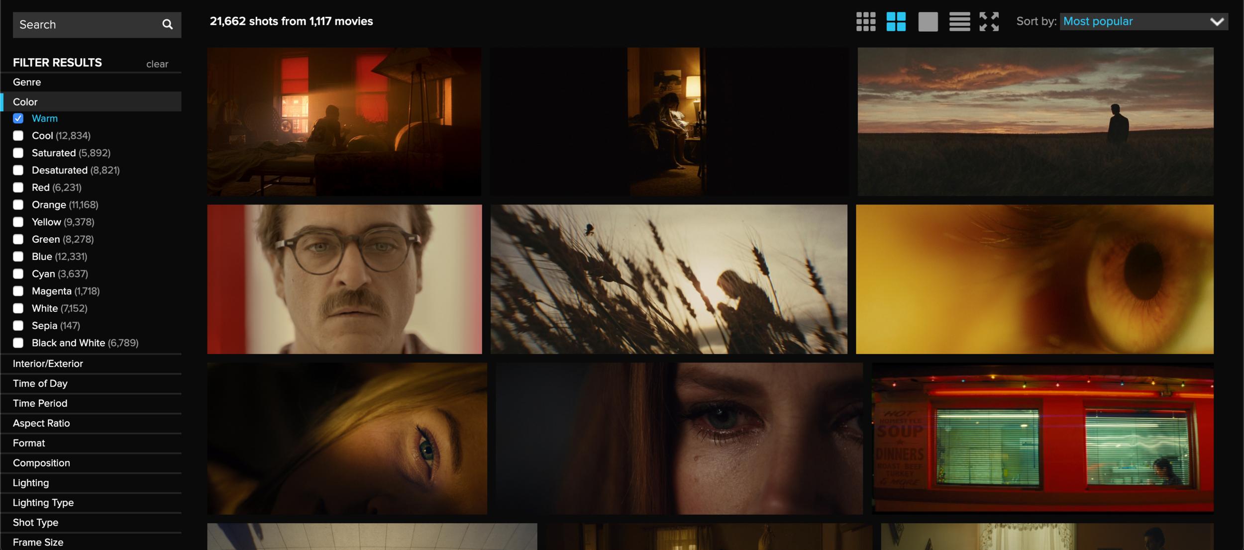 ShotDeck أكبر مكتبة بصرية سينمائية عليك معرفتها