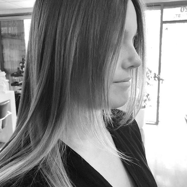 Fresh cut & Face framing for @mollyraebathtub ♡