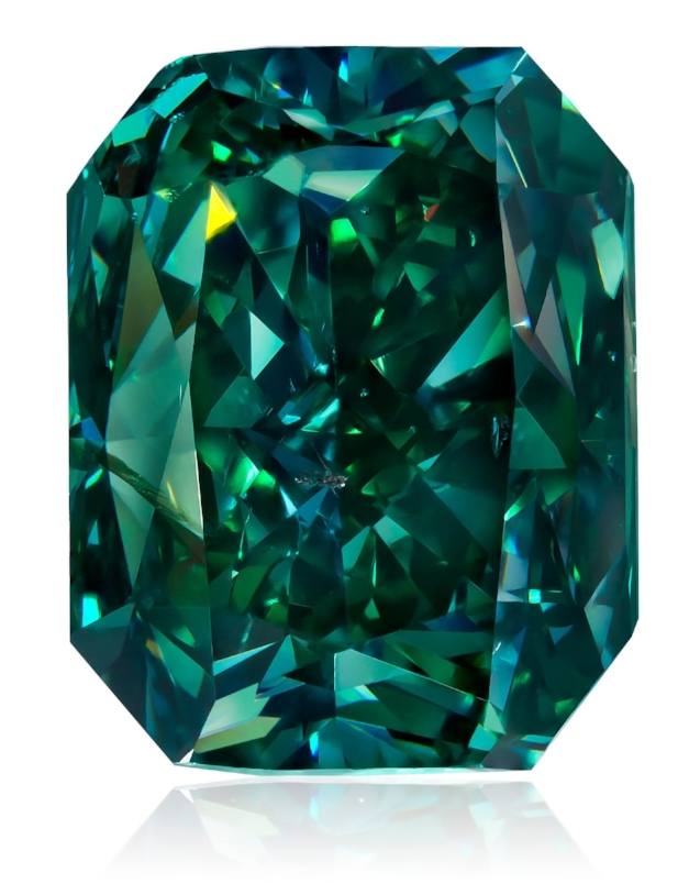 Elite Collection of Natural Fancy Color Diamonds to be Showcased in Green Diamonds - Visitors to the Natural History Museum of Los Angeles (NHMLA) will have a rare opportunity to see some of the world's most coveted natural fancy color diamonds atGreen Diamonds: Natural Radiance, opening on December 9, 2017.New York-based Optimum Diamonds LLC, one of the world's elite houses for rare and exotic natural fancy color diamonds, will have on display a portion of its comprehensive collection of natural green diamonds for this exhibit. Read more here...