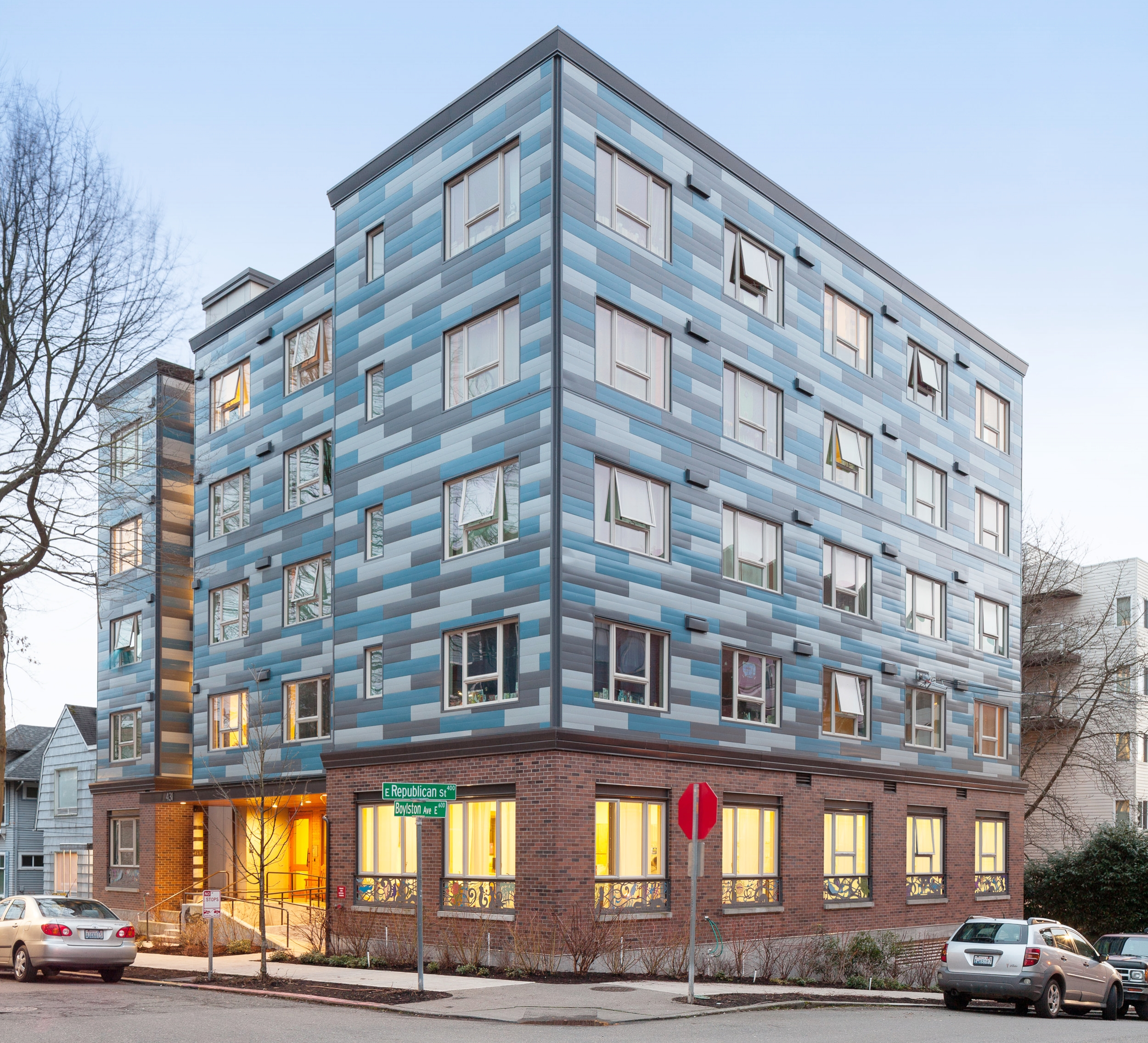 - Client: Community House Mental Health AgencyLocation: Seattle, WashingtonCompletion: 2014Project Size: 44 Units, 21,600 SF