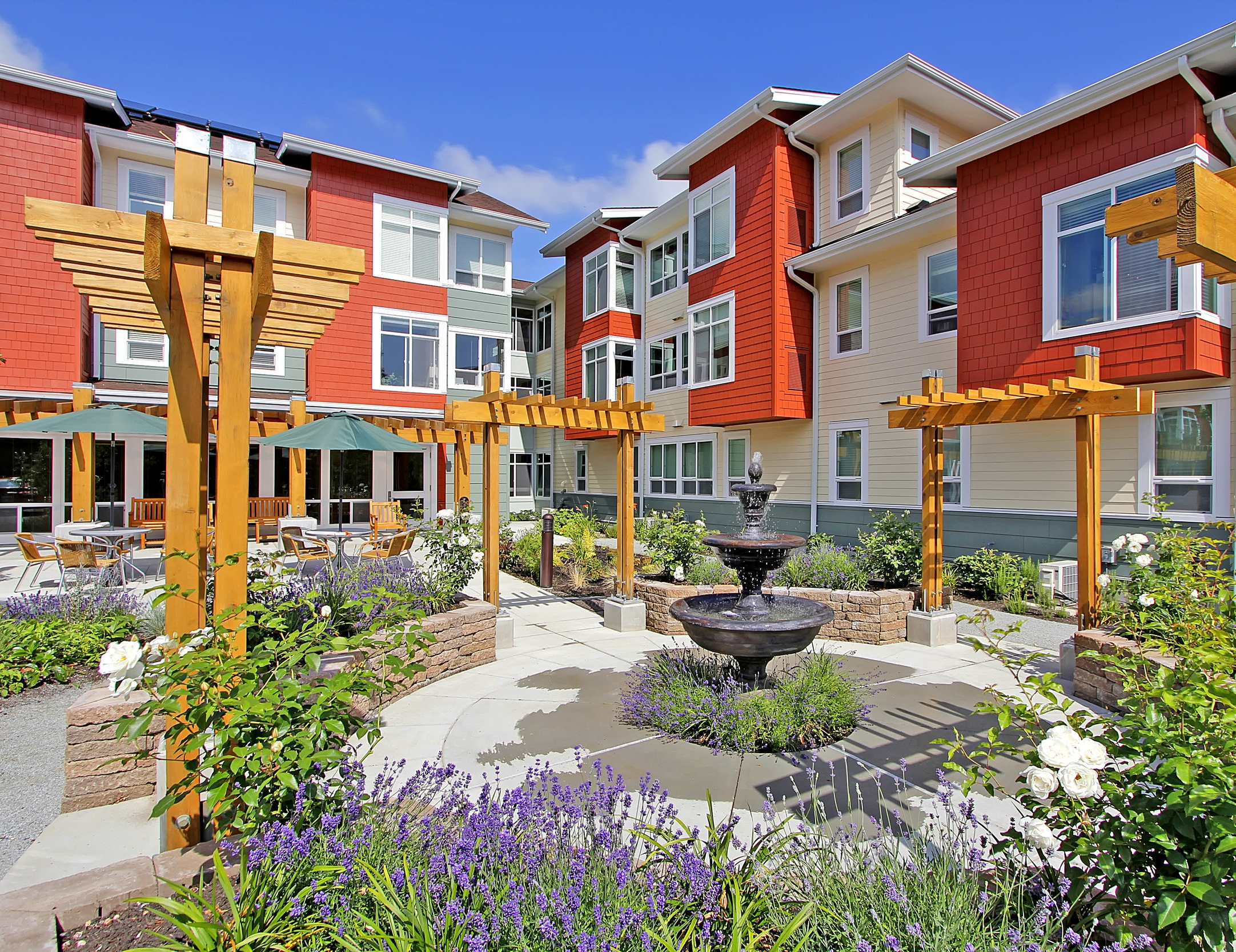 - Client: American Baptist Homes of the WestLocation: Tacoma, WashingtonCompletion: 2011Project Size: 55 Units, 45,000 SF
