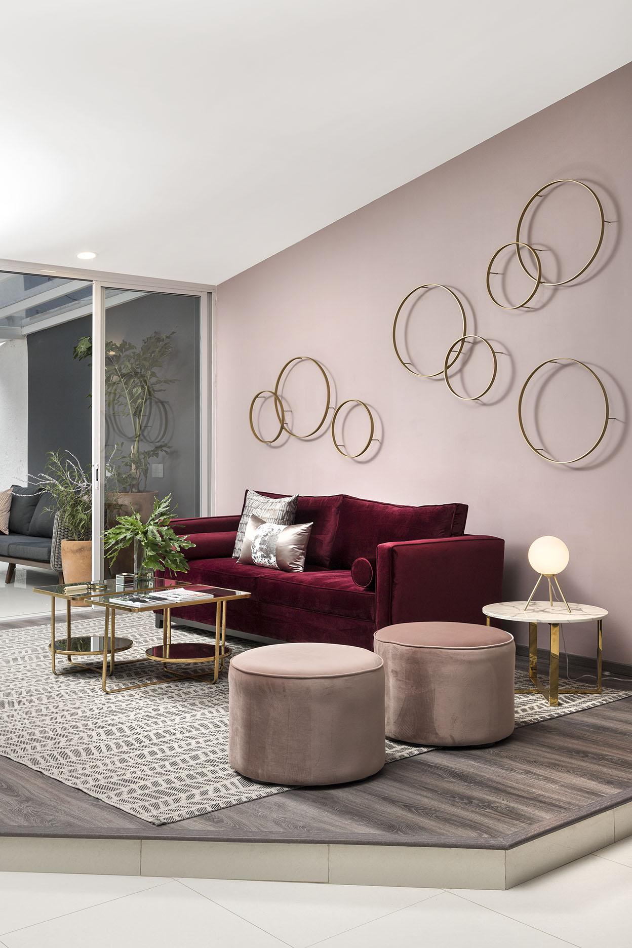 Home: 'Casa Patria'.  Residencia conceptual para Airbnb con elaboración de muebles 'Made to Measure' exclusivos,  Zapopan, JAL, MX