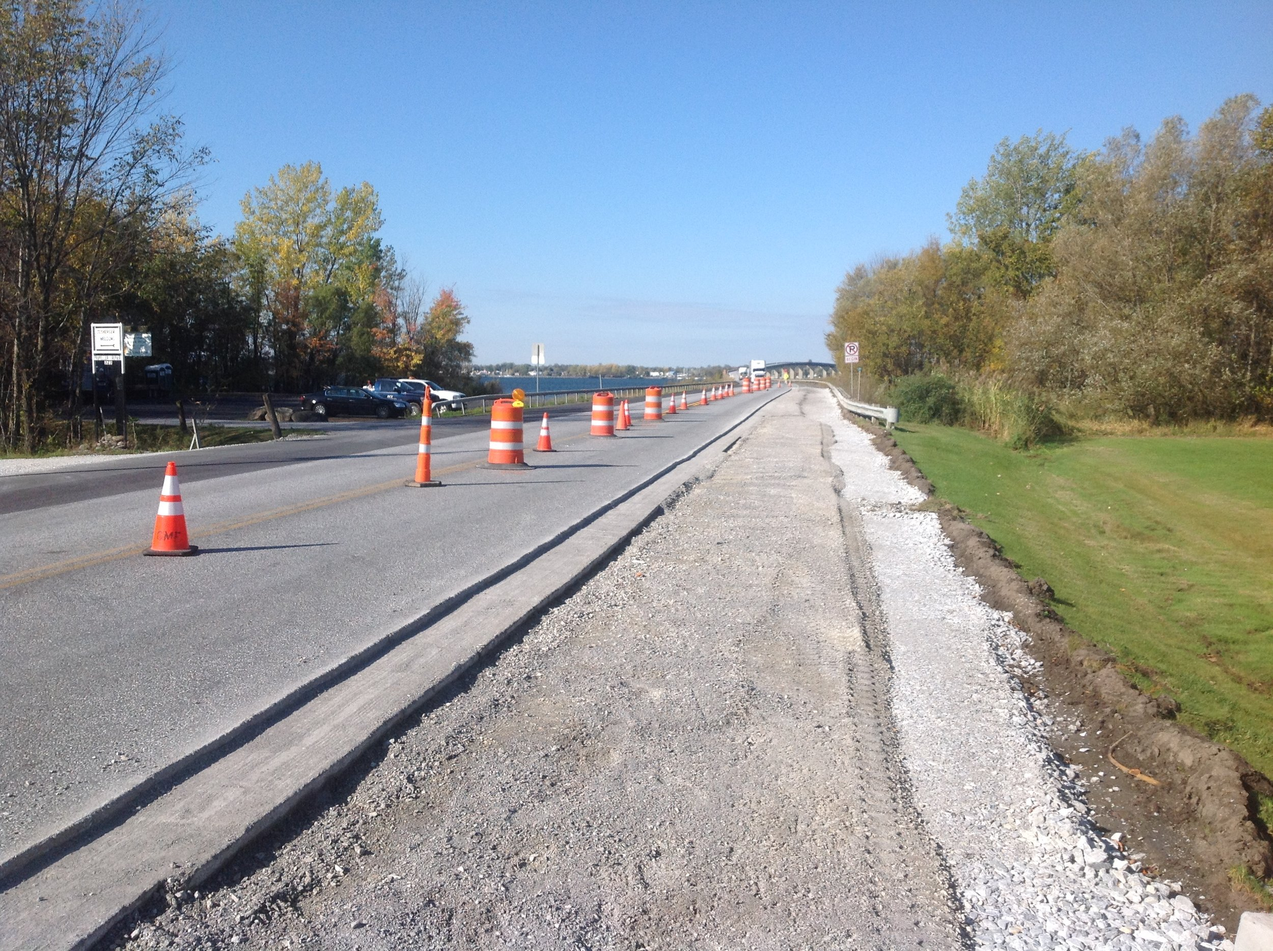 Jolley Alburgh Turn Lane construction.JPG