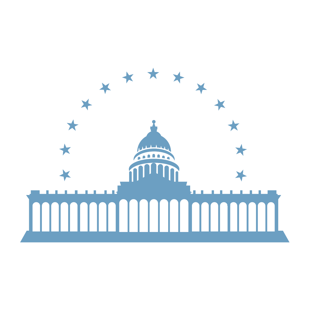 Outline of the United States Capitol building