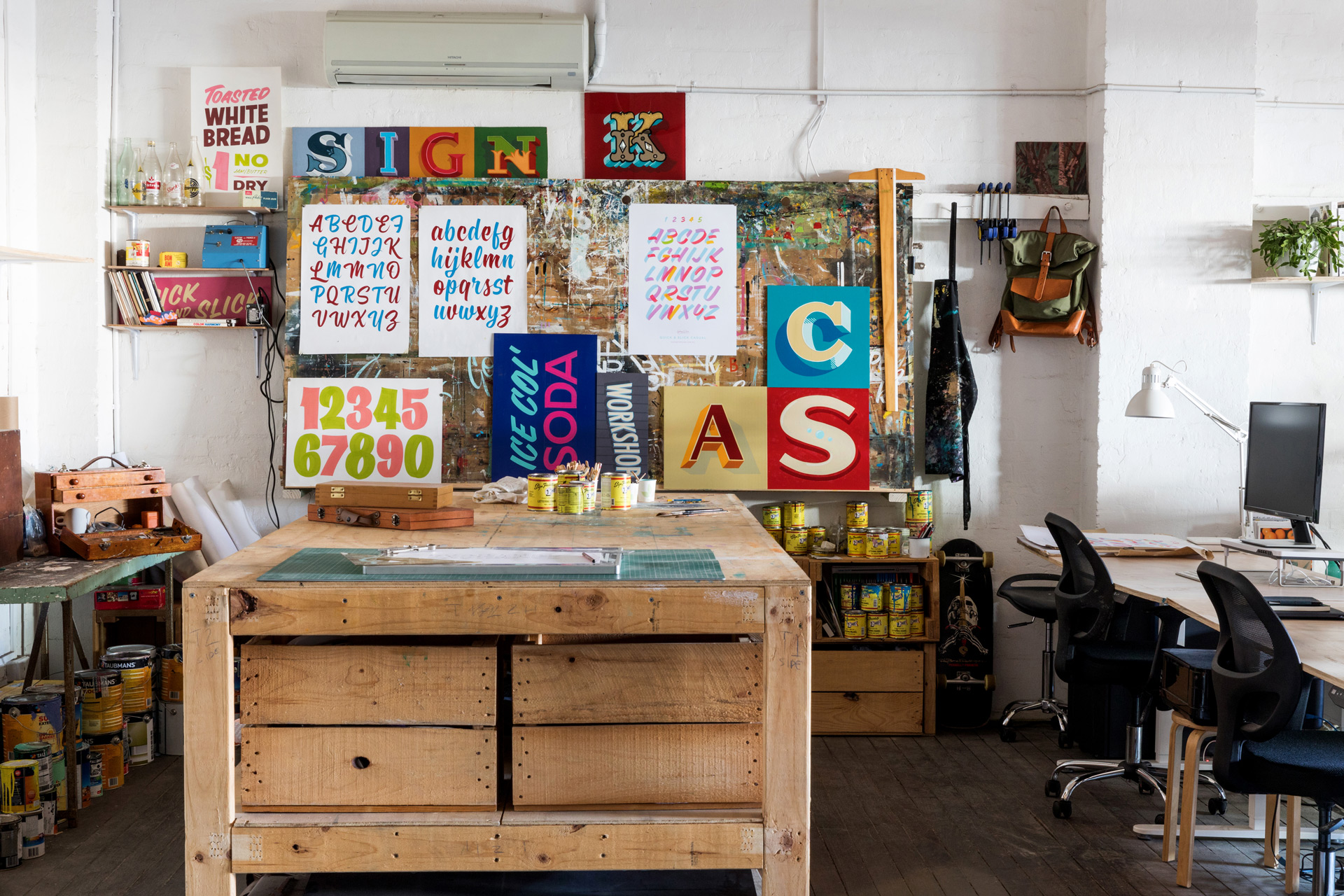 ARTIST & MAKER SPACES -