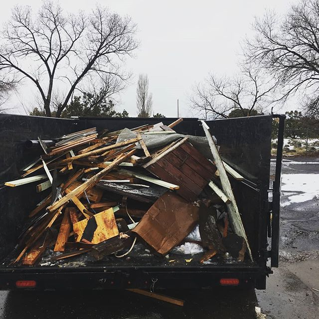 For the remaining of February, take advantage of a $30 discount off our junk removals.  This means you can finally get rid of the useless junk from 2018 for as low as $49.  Schedule online or give us a call.  Exceptionaljunk.com  #santafe #junkremoval #trailer #cleanout