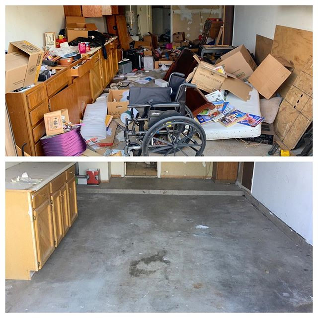 Abandoned Property Clean Out  #liveclutterfree #letusdothedirtywork  #savetime #junk