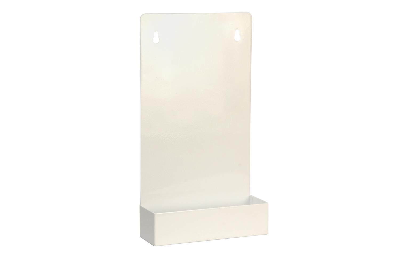 "#240816 Eye Wash Station / 2-16 oz Bottles   Inside dimensions 7 3/4 x 14 x 3 1/2"" 20 ga steel / individual weight 1 3/4 lbs Master carton 6 per / 14 x 14 x 8 / 13 lbs Gloss white powder coating  Custom colors available"