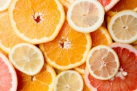 Citrus fruits are an important source of potassium, as well as avocados, bananas, grains, salmon and chicken.