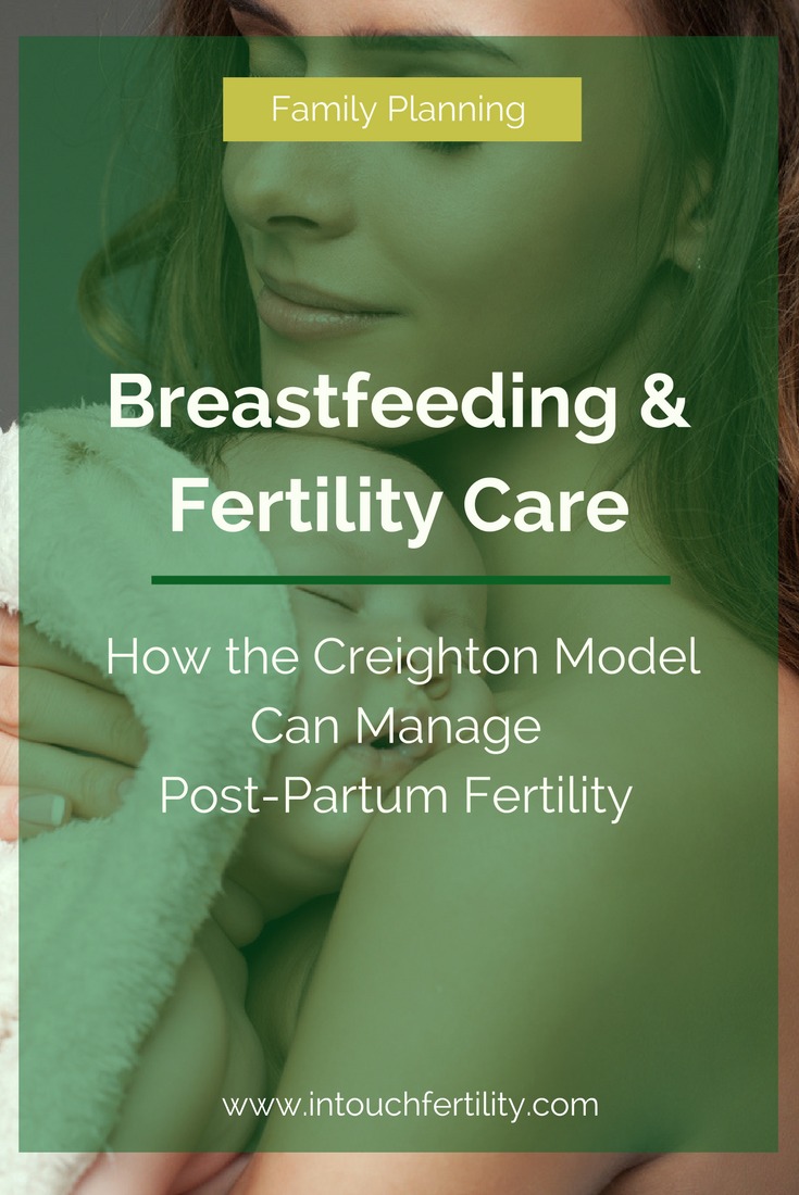 Post-partum can be a challenging time with fertility. The Creighton Model can help manage post-partum fertility