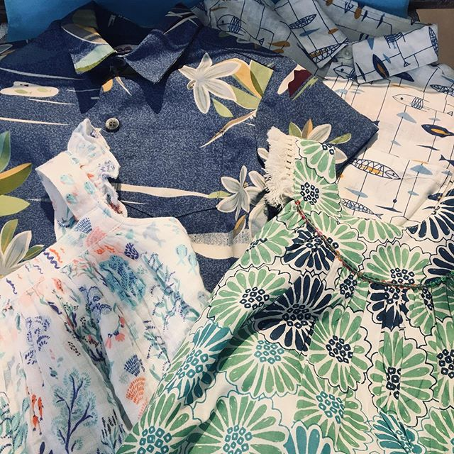 We have beautiful aloha shirts and dresses for your all your upcoming occasions!