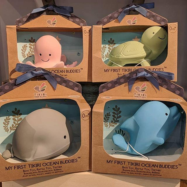 New baby toy ! It's a rattle,bath toy,&teether all in 1 made with 100% natural rubber , a resource that is biodegradable, durable and thus 100% eco-friendly!
