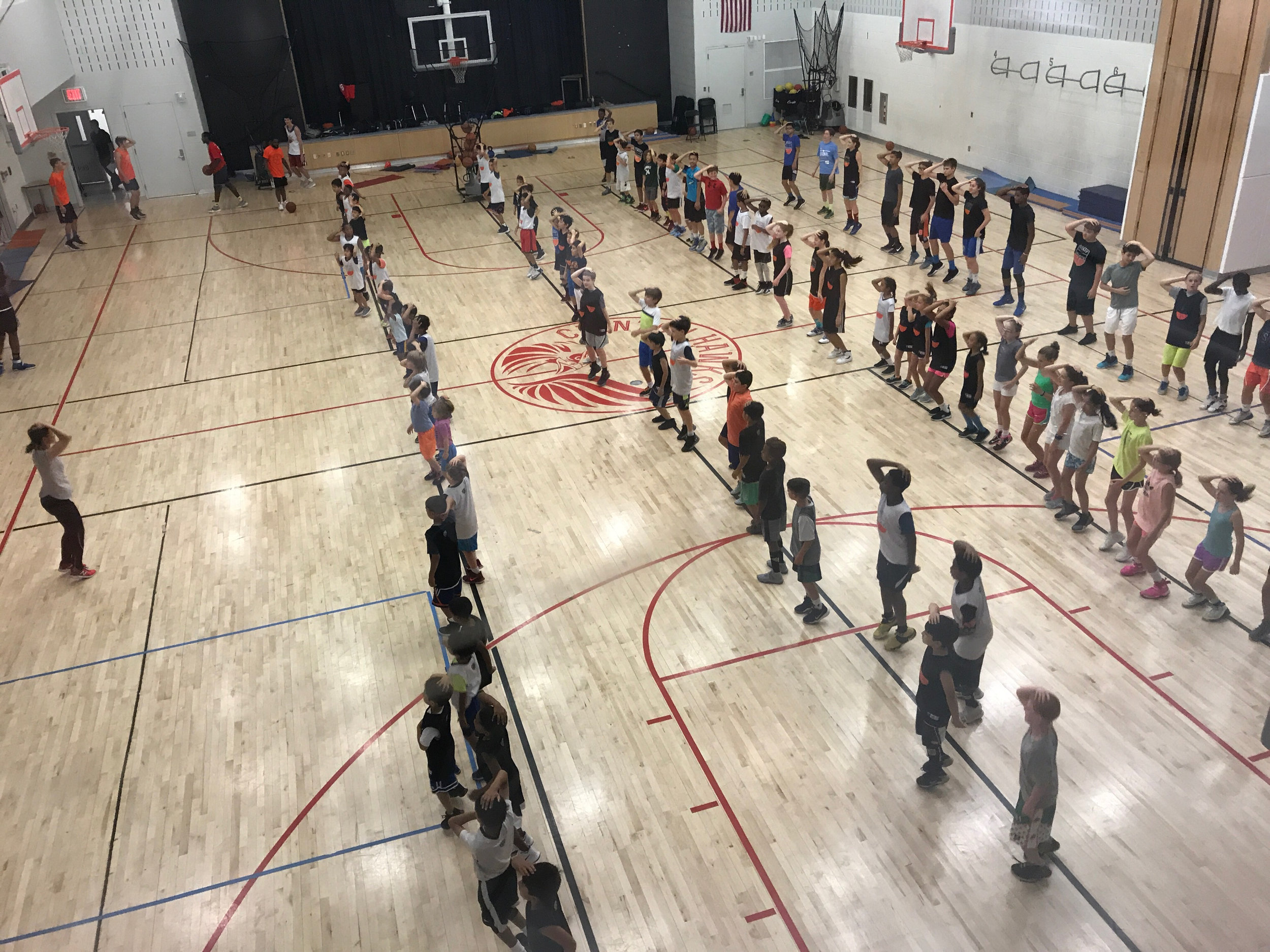 Steady Buckets summer camp, 2017