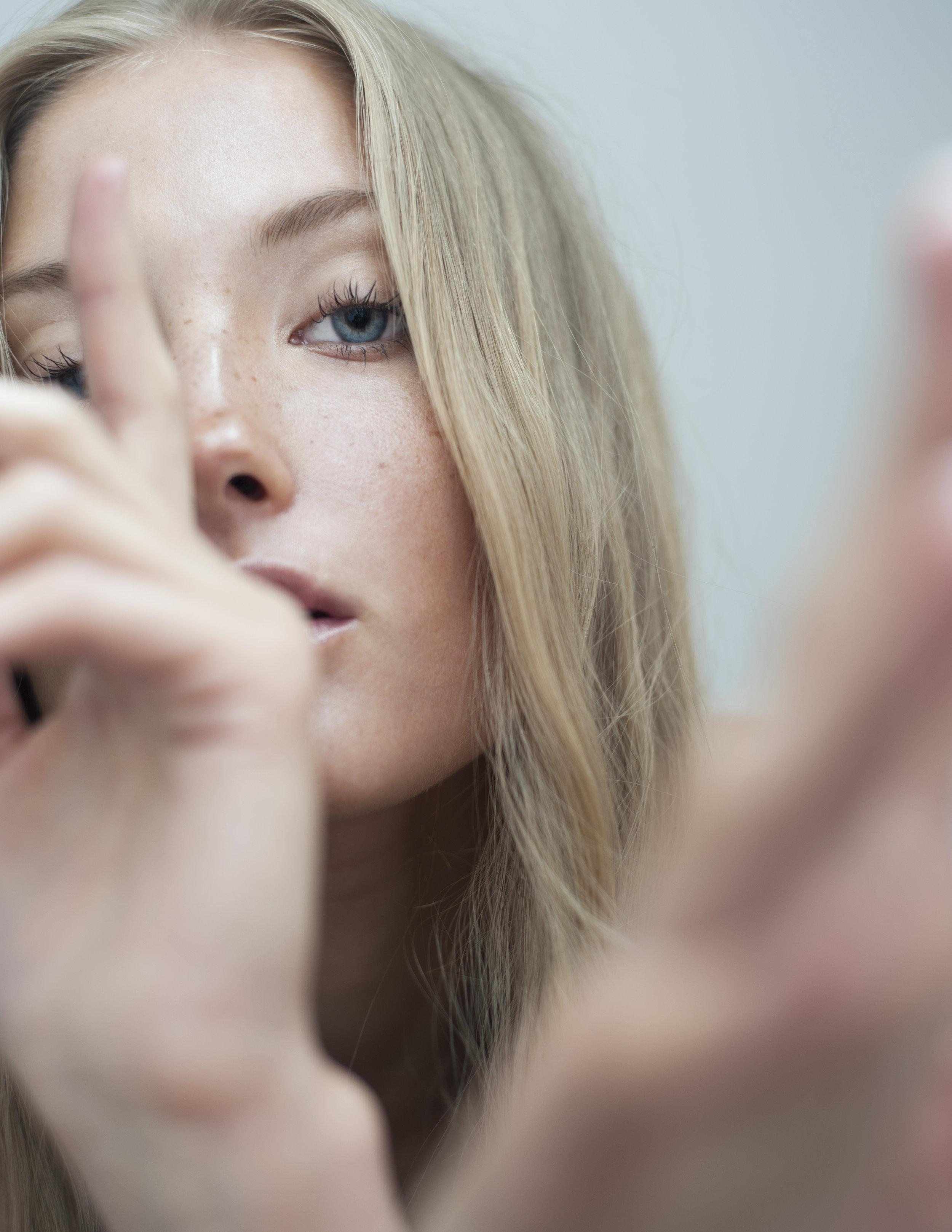 Photography by Taryn Rae-Lee. Hair by Kristine Cimbule