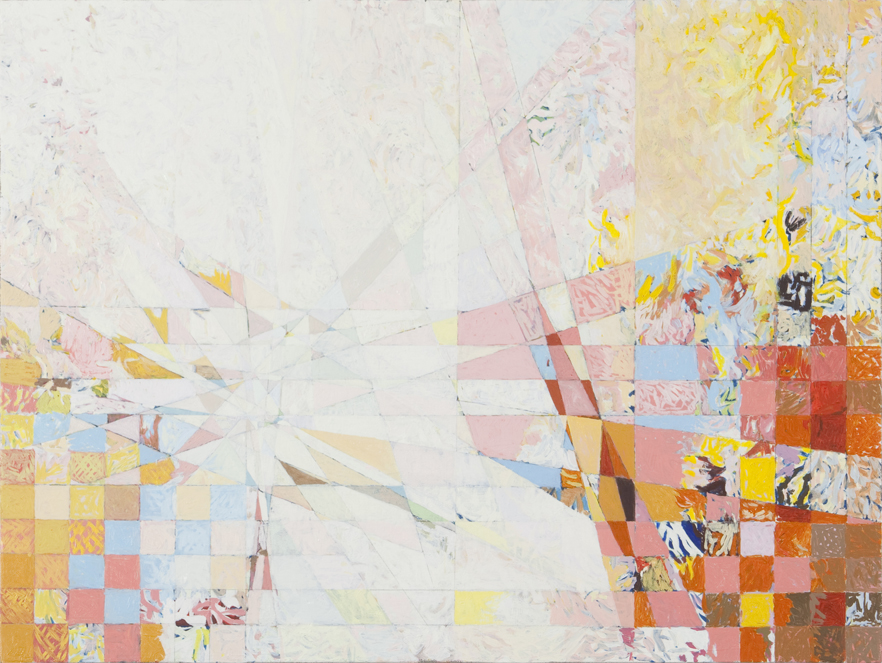 "The First One, 2010, 27 5/16"" x 31 1/16"", Oil on Linen"