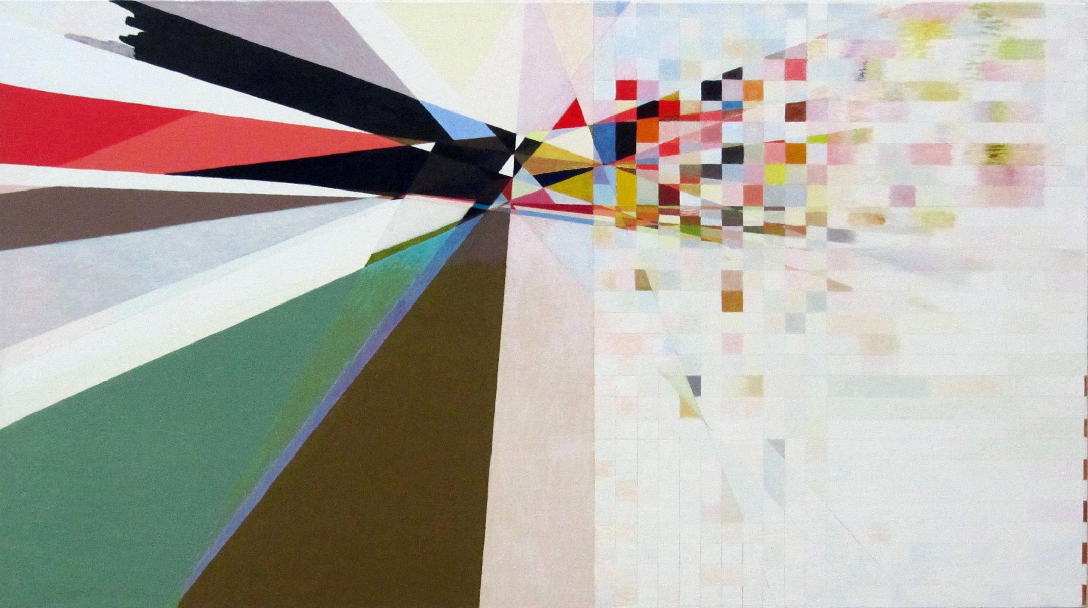 """Sparrow's Wingspan, 2012 18 1/8"""" x  32 1/4"""", Oil on Linen"""
