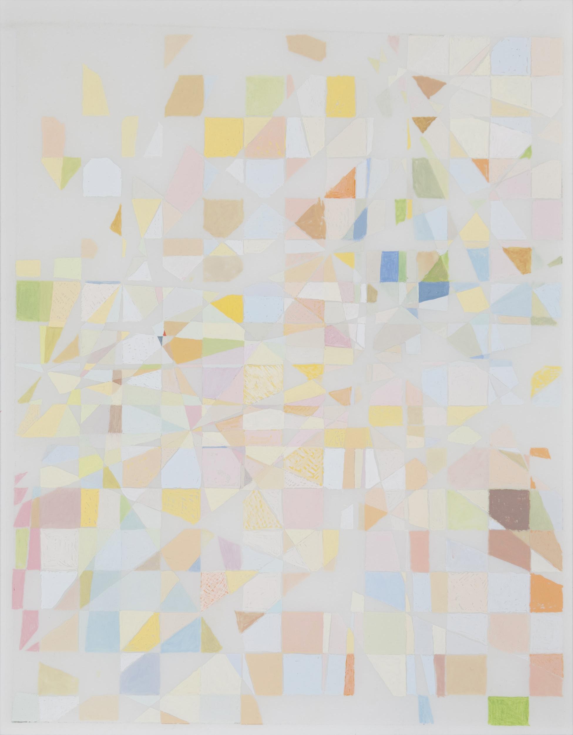 """Light Gouache, 2011 14 x 11"""" Gouache on Mylar"""