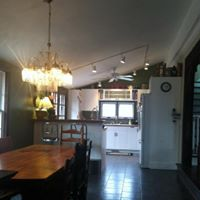 Dining room/ kitchen, after