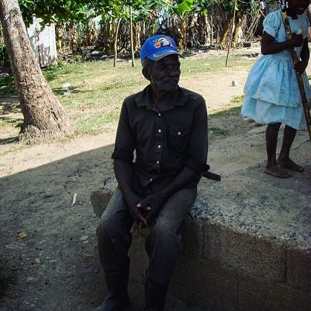 I was so excited to find this photo flipping through old Facebook albums as I have thought about this incredible soul so often since meeting him in the Dominican Republic in 2008.  He left his family in Haiti with the hopes of making money in the sugar cane fields to send back to them. At the time that I met him he had been in the DR for decades unable to make enough to send home, unable to return home, had gone blind from working in the fields without eye protection from the sun, and said even if he could get home his family wouldn't recognize him. And now in his old age, what few dollars he could make for a day's work was stolen from him by stronger workers who were so desperate they resorted to robbing a blind man who couldn't defend himself.  To say society let this man down would be an understatement of the worst kind, and to try and make a point about feeling lucky for what we have just seems stupid. I think I just want his picture to surface again because what killed me more than anything was when he talked about how no one back home would even remember him, and he lived with that everyday. I sadly don't even know his name, but the mark he left on my life is unmeasurable, and I won't forget him for the rest of my life.  I hope you've found peace❤️