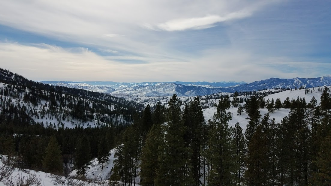 Echo Ridge - Chelan  - Not too far out of Chelan you can get to a tubing and small ski hill with rental cabins available to rent. Just beyond that you continue up for access to snowshoeing and cross country trails.  Spectacular views and suitable for many different fitness levels.