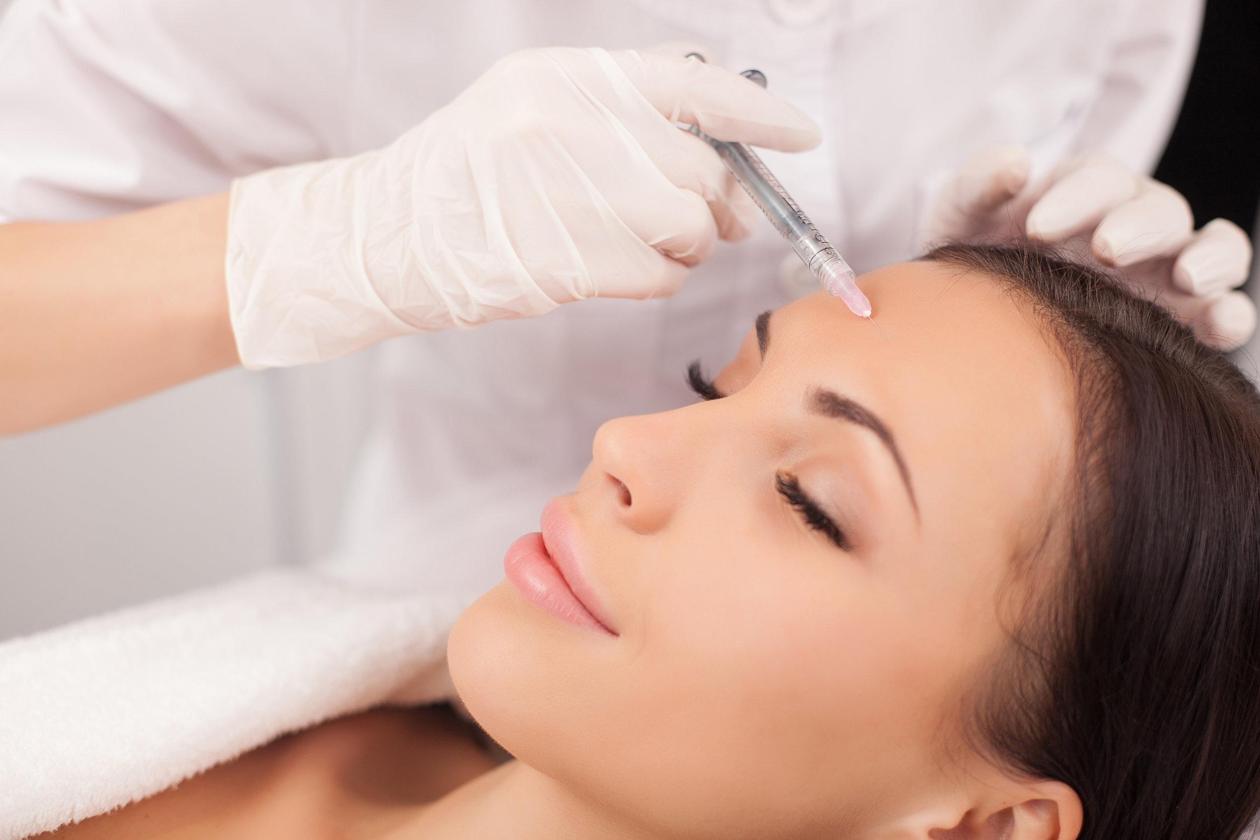 Injectables - Botox, Dysport, Juvederm, & Restylane